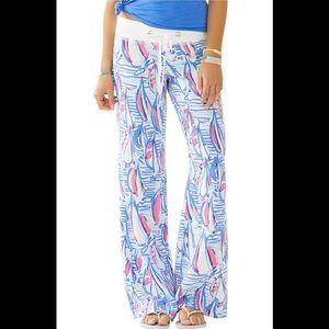 Red right return beach pant Lilly Pulitzer